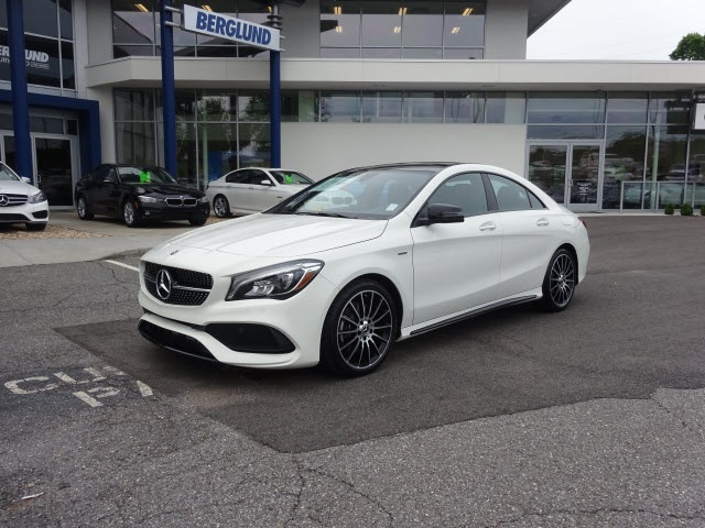 New 2018 mercedes benz cla cla 250 coupe in lynchburg for 2018 mercedes benz cla 250 coupe